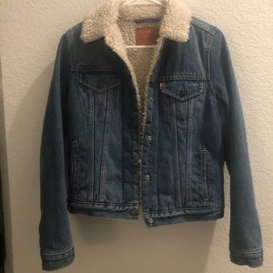 Levi's authentic sherpa trucker jacket